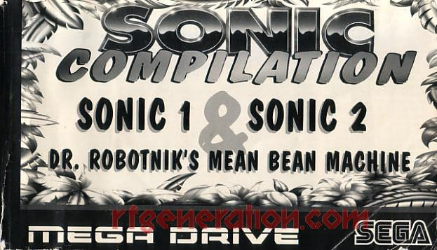 Sonic Compilation <sup>[Cartridge: Assembled in U.K.]</sup> Manual Scan