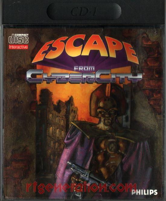 Escape from Cyber City Box Front