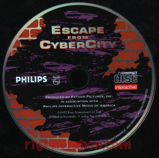 Escape from Cyber City Game Scan