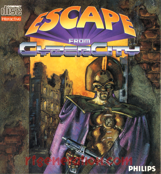 Escape from CyberCity Manual Scan