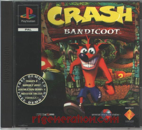 Crash Bandicoot <sup>[Regular Jewel Case]</sup> Box Front