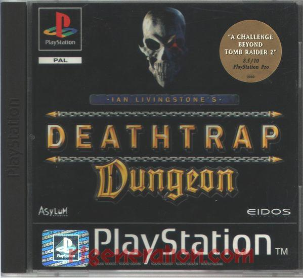 Deathtrap Dungeon Box Front