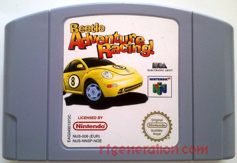 Beetle Adventure Racing! Game Scan