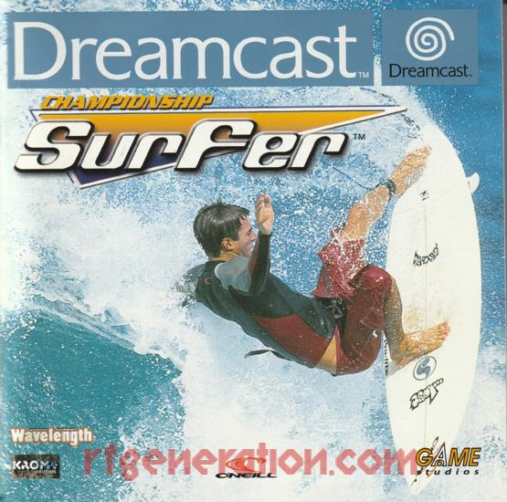 Championship Surfer Manual Scan