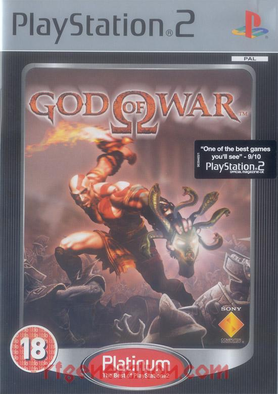 God of War <sup></sup> Box Front