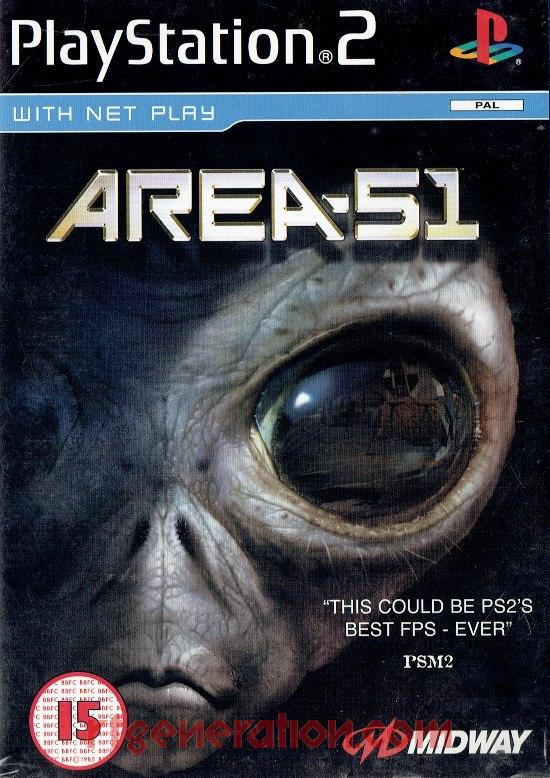 Area 51 Box Front