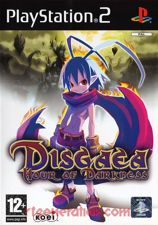 Disgaea: Hour of Darkness Box Front
