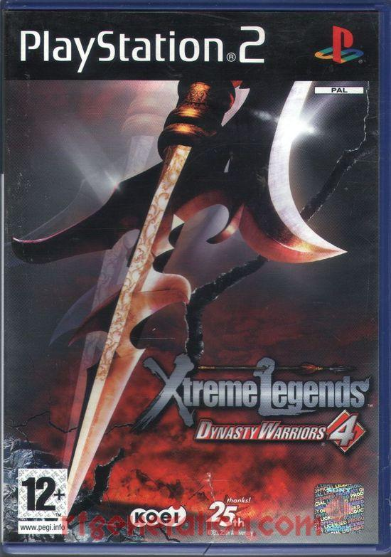 Dynasty Warriors 4: Xtreme Legends Box Front
