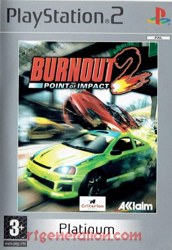 Burnout 2: Point of Impact <sup></sup> Box Front