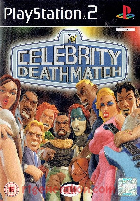 MTV's Celebrity Deathmatch Box Front