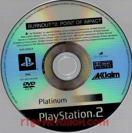 Burnout 2: Point of Impact <sup></sup> Game Scan
