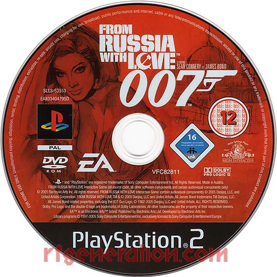 007: From Russia with Love Game Scan