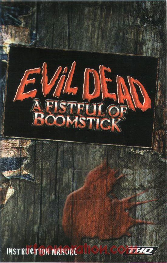 Evil Dead: A Fistful of Boomstick Manual Scan