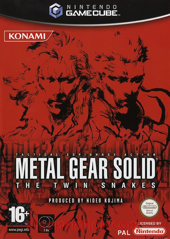 Metal Gear Solid: The Twin Snakes <sup>[PEGI Release]</sup> Box Front