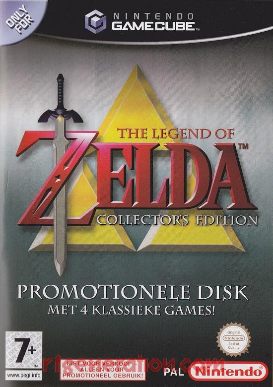 Legend of Zelda Collector's Edition, The Box Front