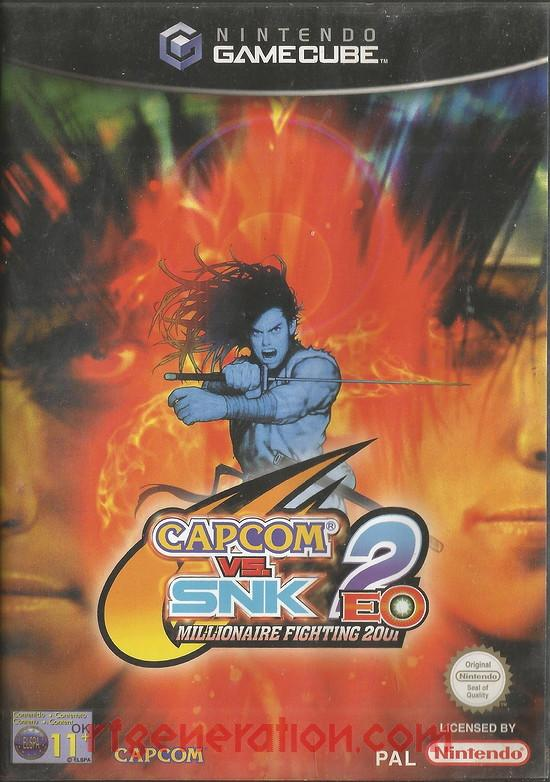 Capcom vs. SNK 2: EO - Millionaire Fighting 2001 Box Front