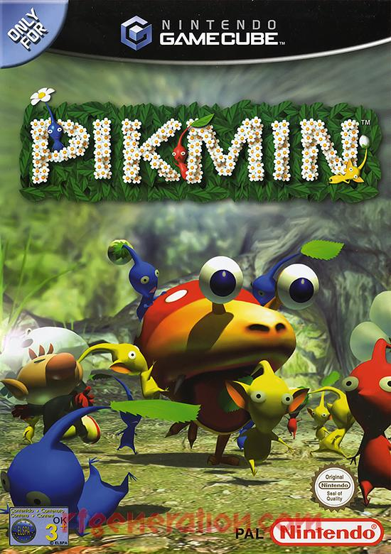Pikmin Box Front