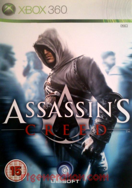Assassin's Creed Box Front