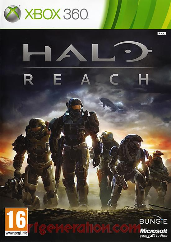 Halo: Reach Box Front