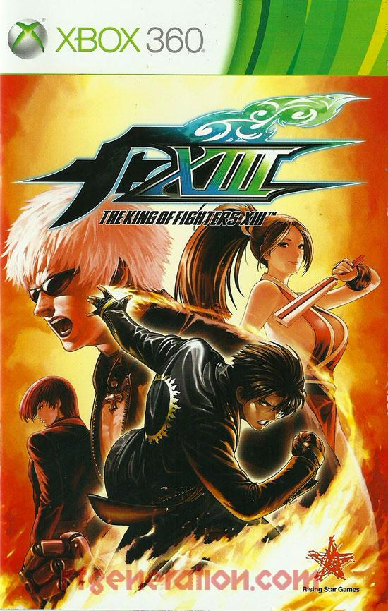King Of Fighters XIII, The <sup>[Deluxe Edition]</sup> Manual Scan