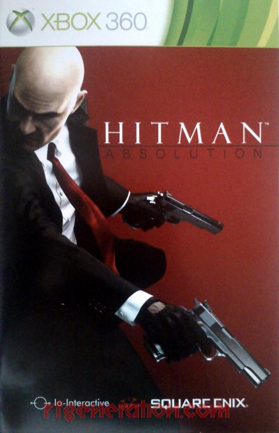 Hitman: Absolution Manual Scan