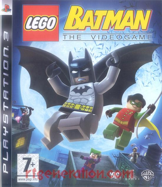 LEGO Batman: The Videogame Box Front