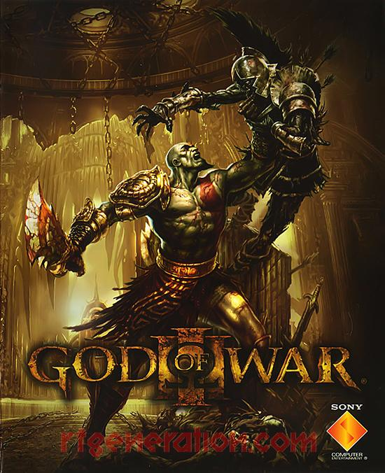 God of War III Manual Scan