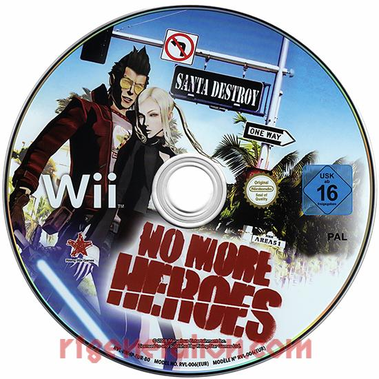No More Heroes Game Scan