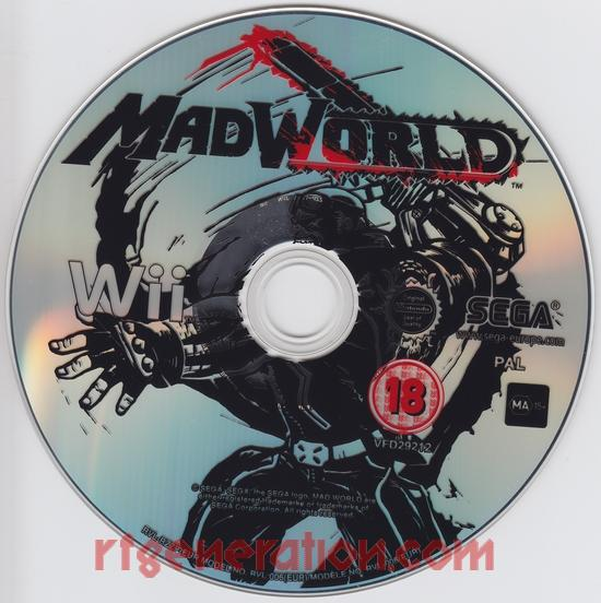 MadWorld <sup>[PEGI release]</sup> Game Scan