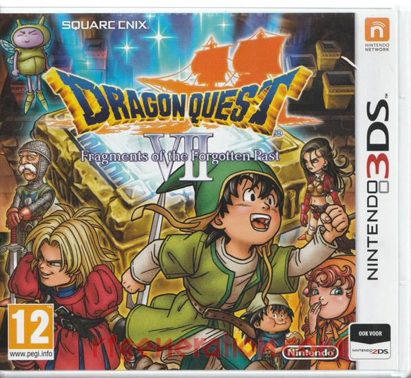 Dragon Quest VII: Fragments of the Forgotten Past Box Front