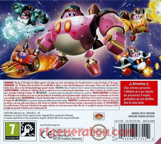 Kirby: Planet Robobot <sup>[Amiibo Bundle]</sup> In-Game Screen