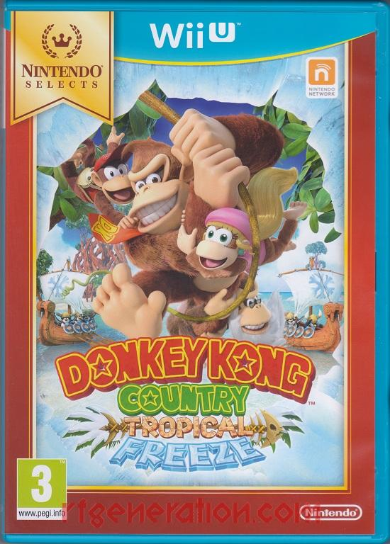 Donkey Kong Country: Tropical Freeze <sup>[Nintendo Selects]</sup> Box Front