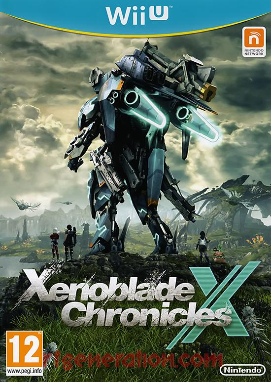Xenoblade Chronicles X <sup>[UK4 Version]</sup> Box Front
