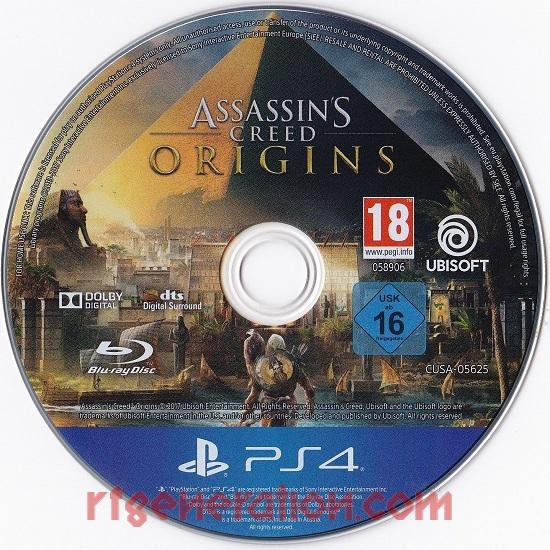 Assassin's Creed: Origins <sup>[Deluxe Edition]</sup> Game Scan
