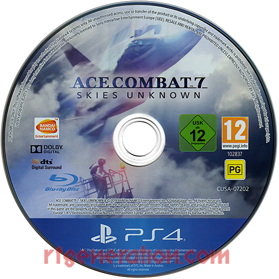 Ace Combat 7: Skies Unknown Game Scan