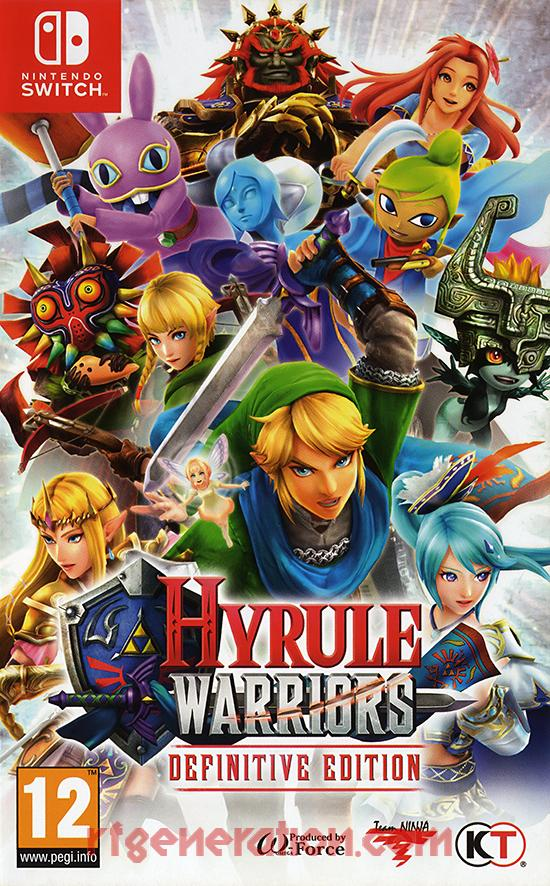Hyrule Warriors: Definitive Edition Box Front
