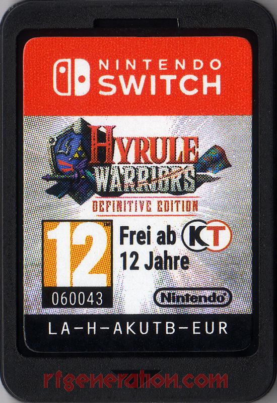 Hyrule Warriors: Definitive Edition Game Scan