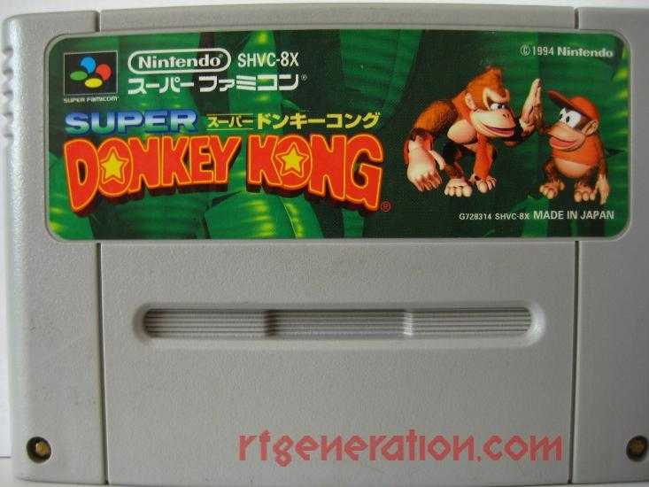 Super Donkey Kong Game Scan