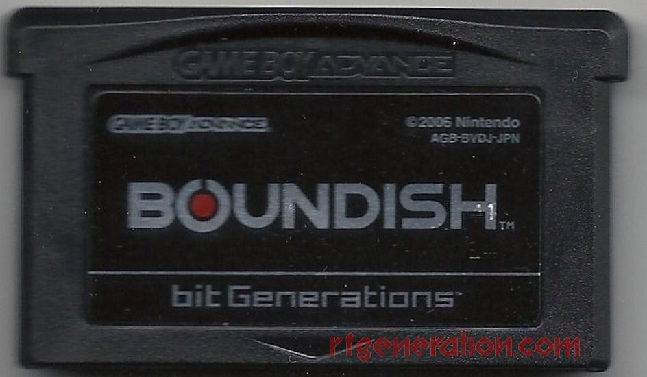 bit Generations: Boundish Game Scan