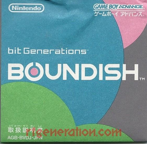 bit Generations: Boundish Manual Scan