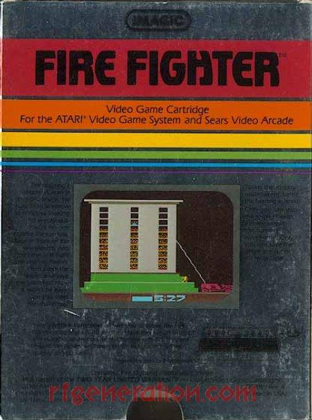 Fire Fighter Box Back