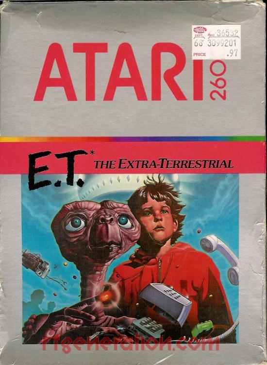 E.T. The Extra-Terrestrial Box Front