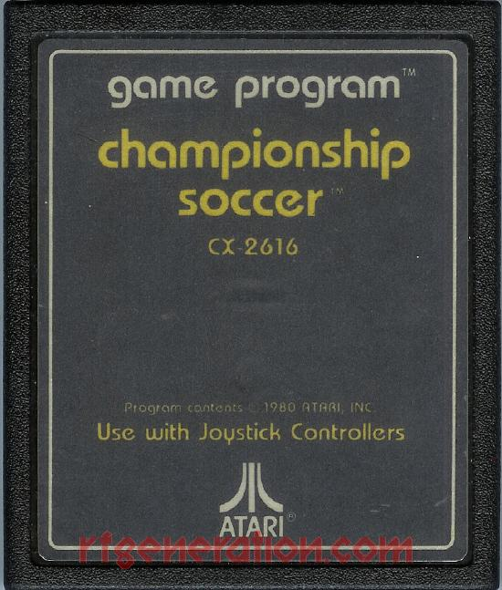 Championship Soccer Game Scan