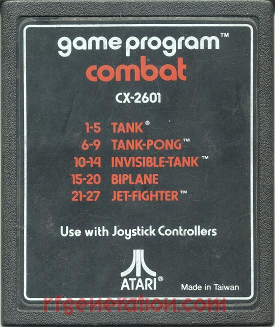 Combat <sup>[Text Label - Made in Taiwan]</sup> Game Scan