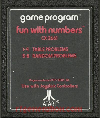 Fun With Numbers Game Scan