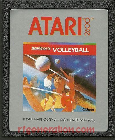 RealSports Volleyball <sup>[Rerelease - 1988]</sup> Game Scan