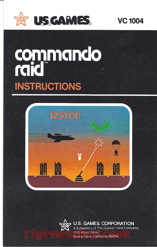 Commando Raid Manual Scan