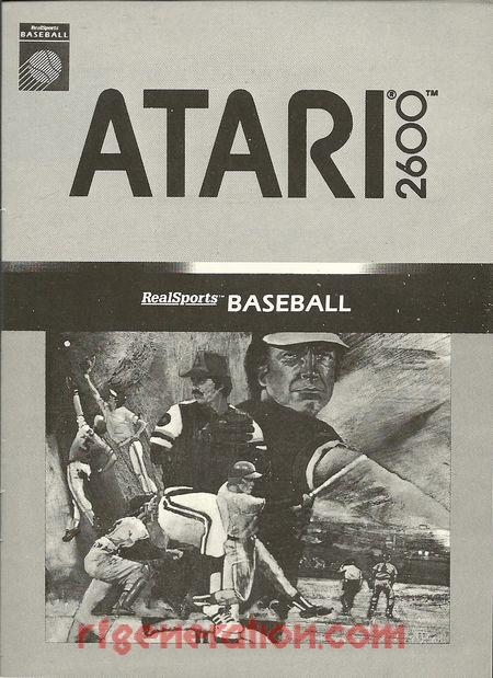 RealSports Baseball <sup>[Rerelease - 1988]</sup> Manual Scan