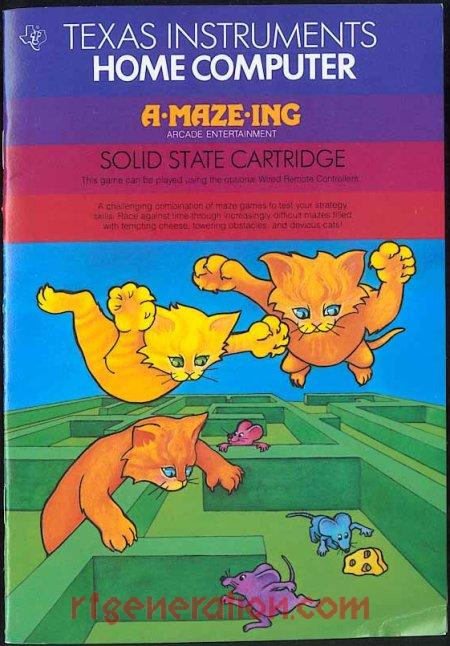 A-Maze-Ing <sup>[Colorful Lable]</sup> Manual Scan