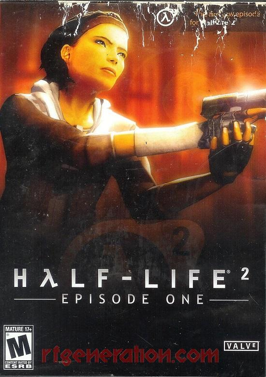 Half-Life 2: Episode One Box Front